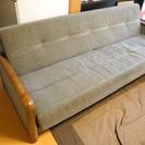 【無料】ソファーベッド まだまだ使えます