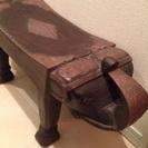 アジアン家具 木製エレファント スツール