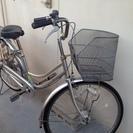 カゴ付き自転車【パンクあり】