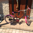 女の子用20インチ自転車♡