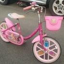 成約御礼 16インチ 子供用自転車 ヘルメット付!練習用にまだまだ...
