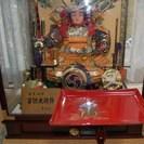 五月人形 端午節句 子供大将飾 鎧着武者人形 10号 吉浜人形