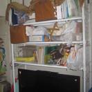 突っ張り式・テレビや机、ピアノ等の上のスペースを有効に使えるラック...