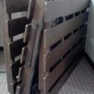 購入決定)カントリー調木製折りたたみベッド