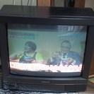 ナショナルブラウン管テレビを地デジチューナーセットで差し上げます