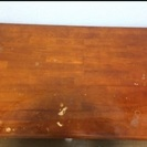 折りたたみできる座卓 120×75 購入後一年弱