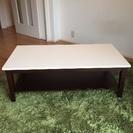 値下げ 木製テーブル