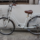 しっかりした自転車