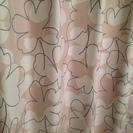 花柄のカーテン!