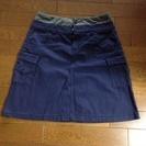 紺色スカート¥100