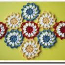 クロッシェカフェ ~春のかぎ針編み <食卓を彩るモチーフ編み>