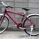 軽量アルミフレームの本格スポーツクロスバイク !