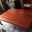 【只今交渉中】木製テーブル まだまだいけます!