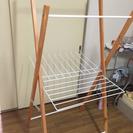 折り畳み室内物干し 木製 無料 商談中