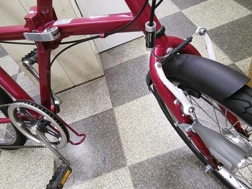 ]中古自転車 折りたたみ自転車 ...