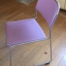 会議椅子  ミーティングチェア  パイプ椅子  2脚