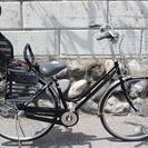 27インチ3段変速付自転車+OGK子供乗せ