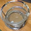 【引取限定】回転式ガラス・テーブル(4段) 500円
