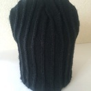 黒ニット帽