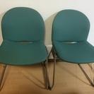 ITOKI 会議用チェア 2脚 パソコンチェアや勉強用の椅子にも