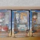 500円 非売品☆ワンピースプレイセットシリーズ3 全3種セット