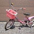 女の子用16インチ自転車 完全動作品 配達OK