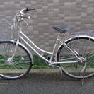 [他で売れました] 27インチ自転車 LEDオートライト 六段変速...