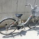 川崎市高津区に直接取りに来れる方のみ。中古電動アシスト自転車 古い...