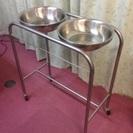 ステンレス製消毒手洗い台