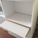 ニトリ 白い食器棚8000円