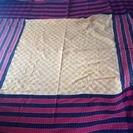大判の布(ベッドカバー?) バングラデシュ製、未使用