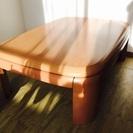 高さが変えられる座卓!角が丸くて赤ちゃん安心です!