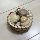 貝殻 ハート ジュエリーBOX