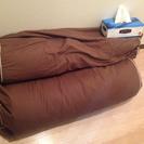 【差し上げます】クッション(寝具リサイクルの)