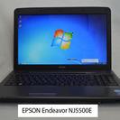 EPSON NJ5500E/Core i7搭載、フルHD、Win7...