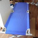 キャンプ用簡易ベット 組み立て式
