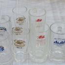 ☆無料☆キリン・アサヒのビールジョッキ11個セット中古品