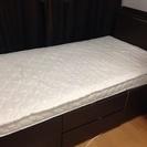 ニトリの収納ベッド