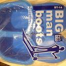 お風呂洗い等に・・・「ビッグマンブーツ BT-14 BL」 サイズ...