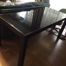 ダイニングテーブル ガラス天板(クラスティーナ)