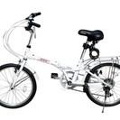 SHINE WOODⅠ20インチシマノ6段変速 折りたたみ自転車