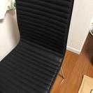 椅子 ブラック ニトリ製