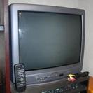 ビクター21型ステレオブラウン管テレビ+地デジチューナー