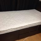 ニトリ収納ベッド
