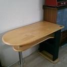 天然木のカウンターテーブル