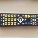 たくさんのTVの対応できる(筈の)リモコン 2個