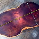 アフリカ紫檀の一枚板!