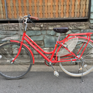 【引取限定】ギア付オートライト自転車を差し上げます