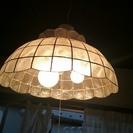 ステンドグラス風シェルライト北欧モダン 貝殻