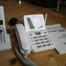 コードレス子機つき 留守番電話機